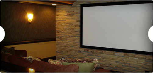 Medium Tech Home Theater Installation